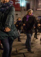 Demostración de cata de los grupos de autodefensa feminista